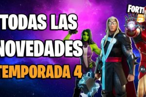 Secretos temporada 4 fortnite